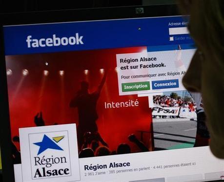 Communication territoriale: La Région Alsace, première sur Facebook | Think Digital - Tendances et usages des médias sociaux | Scoop.it