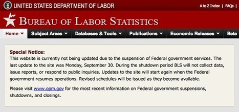 Federal government shutdown: The data casualties | Historic Flooding Across Colorado | Scoop.it