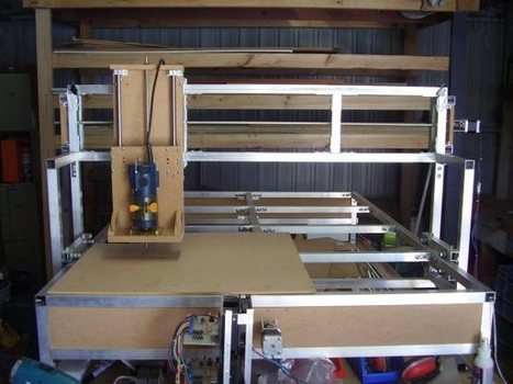 DIY Bolt Together CNC Router | Heron | Scoop.it