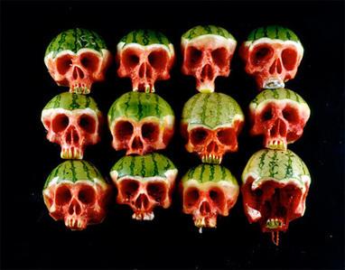 Fruit and Vegetable Skulls   mechi-giralt   Scoop.it