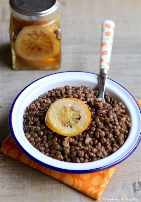 Salade de lentilles au citron confit et cumin | miam! | Scoop.it