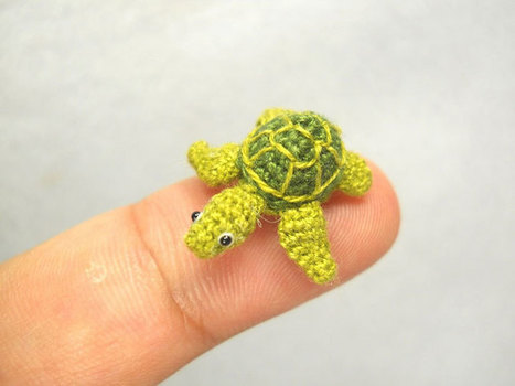 Family of Crafters Crochet Adorably Tiny Animals That Fit on Your Fingers | Le It e Amo ✪ | Scoop.it
