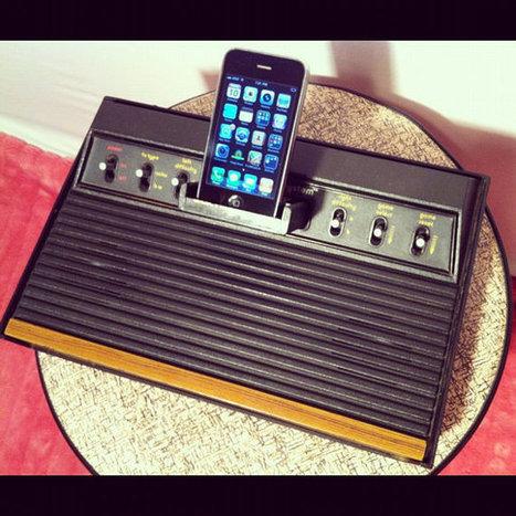 Un dock iPhone à partir d'une Atari 2600   Vade RETROGames sans tanasse!   Scoop.it