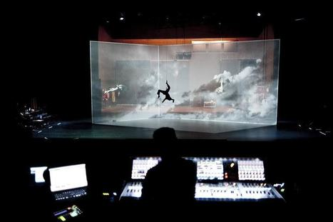 The Movement of Air: A New Dance Performance Incorporating Interactive Digital Projection from Adrien M & Claire B | The Art of Dance | Scoop.it