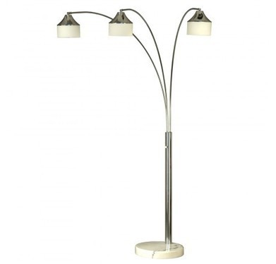 Nova Lighting 2110075 Papyrus 3-Light Arc Lamp | Home Remodeling | Scoop.it