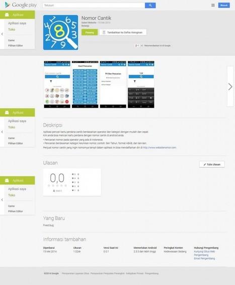 Aplikasi Nomor Cantik Untuk Android   Jasa Pembuatan Website   Jasa SEO Murah   Website Nomor Cantik   Scoop.it