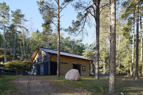 AF-L(A) sets villa brannskar within swedish forest - designboom | architecture & design magazine | Idées d'Architecture | Scoop.it