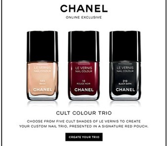 Chanel offers online customization to spur nail polish sales | Luxury, Cosmetics | Scoop.it