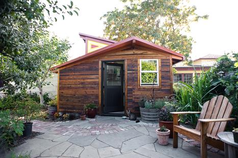 { Bureaux } Un studio au fond du jardin | DecoCrush blog déco, idées déco | décoration & déco | Scoop.it