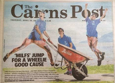 Front Page News for MILF for Duchenne | 2015 Great Wheelbarrow Race Team Newsletter | Scoop.it