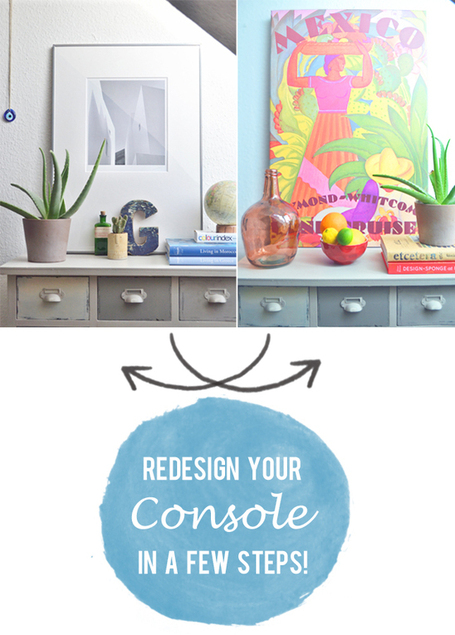 Happy Interior Blog: Quick Home Decoration: Simple Console Styling | Interior Design & Decoration | Scoop.it