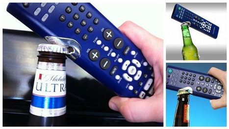 The Clicker: 2 in 1 TV Remote and Bottle Opener | zennon queiroz | Scoop.it