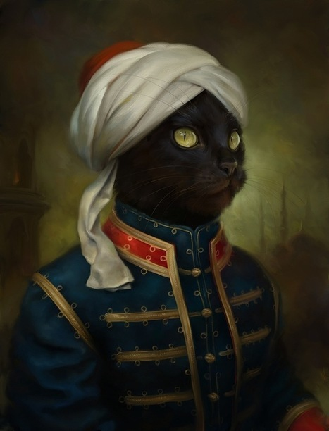 Dashing Portraits of Cats Dressed in Royal Attire | Cats | Scoop.it