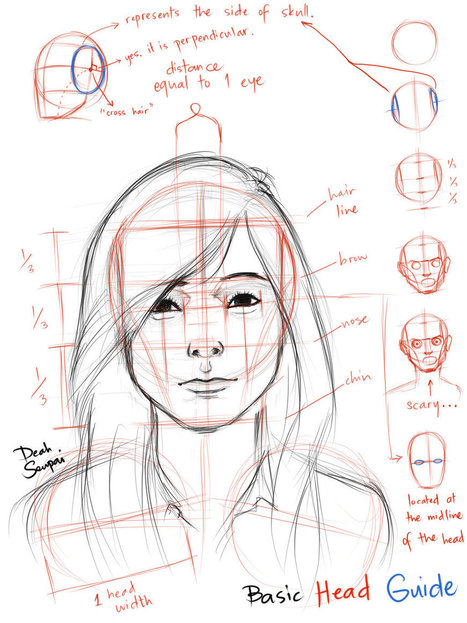U0026#39;face Drawing Referenceu0026#39; In Drawing References And Resources