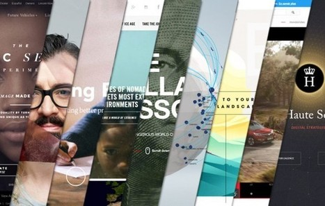 L'inspiration webdesign du mois #11 | #Graphisme #Webdesign #Communication #Publicité | Scoop.it