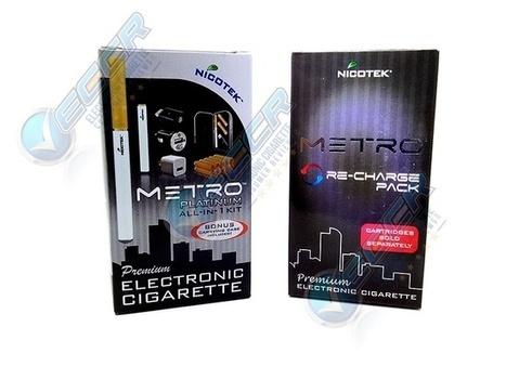 Nicotek Metro Electronic Cigarette Product Images - E Cig Reviews   Electronic Cigarette Product Images & E-Cig Reviews   Scoop.it