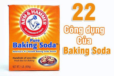 22 Công dụng của baking soda khiến bạn kinh ngạc | Sức khỏe và đời sống | Scoop.it