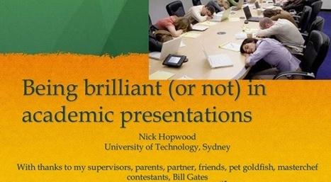L'art de faire une présentation Powerpoint ratée expliqué en dix slides   Prise de parole en public   Scoop.it