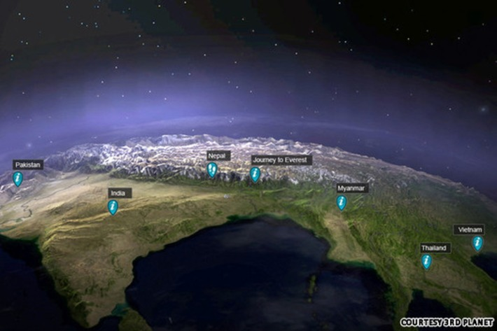 3D travel portal brings Earth into your home   CNNGo.com   Machinimania   Scoop.it