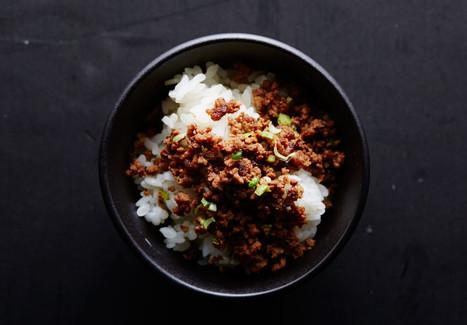 Soboro Beef Recipe - Bon Appétit | La cuisine japonaise | Scoop.it