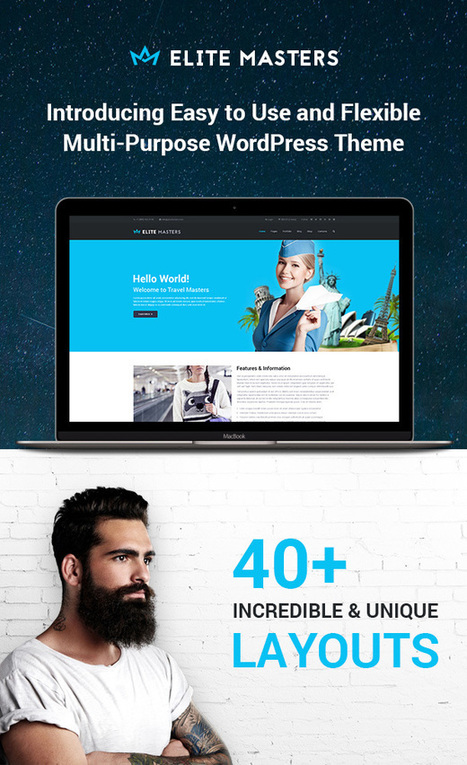 FREE Theme : Business Multi-Purpose WordPress Theme (Limited Time freebie) | Design Freebies & Deals | Scoop.it