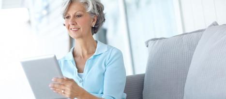 Les seniors accros aux écrans — Serengo | Medias today | Scoop.it