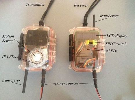Wireless Infra Red Perimeter Detection Device | Open Source Hardware News | Scoop.it