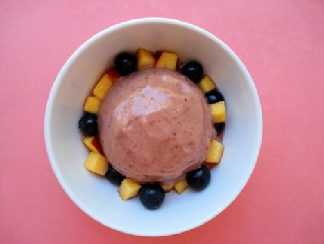 3-Minute Strawberry Nectarine & Avocado Ice Cream   Healing Foods Recipes and Healthy LifestyleTips   Scoop.it
