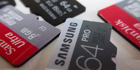 {niKo[piK]} - L'excuse fournie par les fabricants de Smartphones pour retirer le support des cartes Micro SD : «Ce n'est pas très performant» | Seniors | Scoop.it