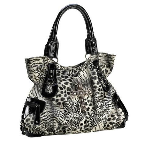 Animal Print Shoulder Bag | Affordable Jewelry | Scoop.it