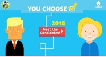 You Choose 2016 Teaches Kids About the Presidential Election Process | Tech, Web 2.0, and the Classroom | Scoop.it