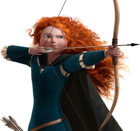 Merida   Brave Characters   Official Disney Pixar Site UK   Brave - Changing Faces of Disney Princesses   Scoop.it