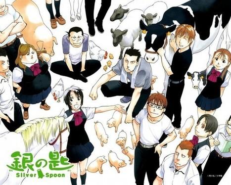 Le blog d'Akira – Critique : Silver Spoon | Critiques de mangas | Scoop.it