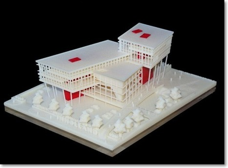 Architecture - Virtual to Physical 3D Print Modeling | On 3D-printing and the home factory | Scoop.it