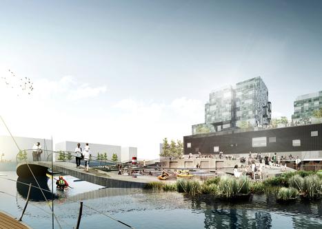 CF Møller plans Copenhagen harbour baths that double as classrooms | World Architecture | Scoop.it