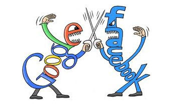 Facebook vs Google : The War Is Still On [Infographic] | Business-Scoopit | Scoop.it
