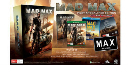 Mad Max Post-Apocalypse Edition to feature a mini Licence Plate | myproffs.co.uk- gaming news | Scoop.it