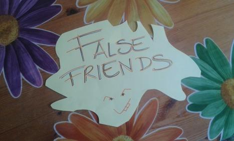 Imparare l'inglese: 15 sorprendenti false friends | Love Languages | Scoop.it