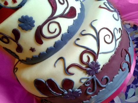 Torta Violetta in pasta di zucchero | Il mio respiro....  il mio battito.... la mia vita....VIOLETTA! | Scoop.it