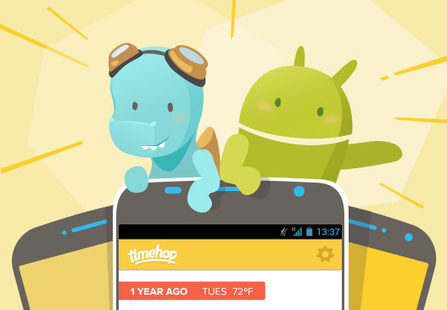 Timehop Brings Its Mobile Time Machine To Android - TheInternetVision.com   Digital-News on Scoop.it today   Scoop.it