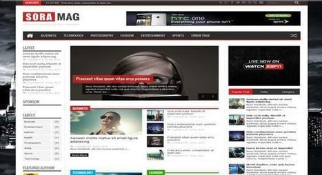 DOWNLOAD SORAMAG MAGAZINE RESPONSIVE BLOGGER TEMPLATE ~ NAIJAGUARD.COM | Blogger themes | Scoop.it