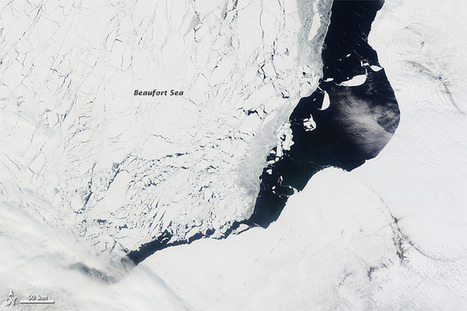 Sea Ice Retreat in the Beaufort Sea : Image of the Day | Climate - Water - Ecology - People and Sustainability post Rio+20 | Scoop.it