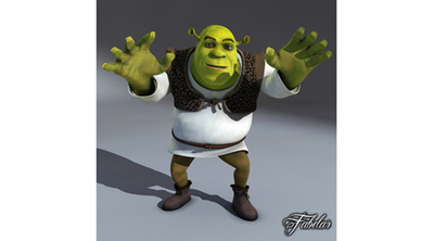 Cartoon Shrek en 3D animé | 3D Library | Scoop.it
