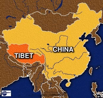 Map of China and Tibet | Genocide Grace M. | Scoop.it