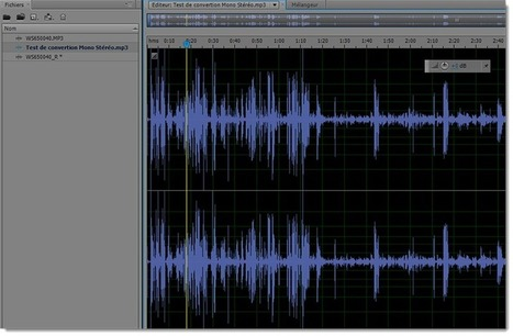 Comment convertir un fichier son Mono en Stéréo avec Adobe Audition | Web Technique | Scoop.it