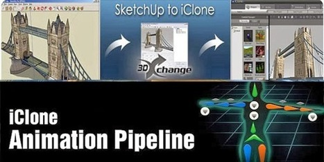 """Google Sketchup updates !: An exclusive demonstration on """"The SketchUp to iClone Pipeline"""" will be provided in the sixth annual Machinima Expo 