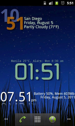 Advanced Clock Widget Pro v0.740   ApkLife-Android Apps Games Themes   Android Applications And Games   Scoop.it