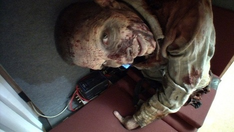 Zombie farceur pour Walking Dead   streetmarketing   Scoop.it