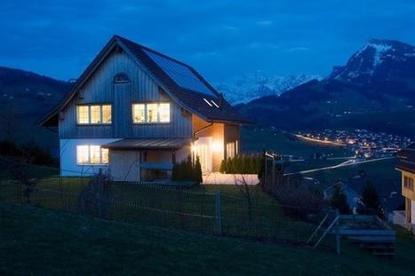 Des maisons qui produisent leur propre énergie en Suisse (+ vidéo) | Habitation autonome | Scoop.it