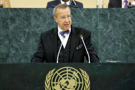 At UN, Estonian President stresses Internet governance in development - UN News Centre   ESTONIA   Scoop.it